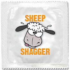 SHEEP SHAGGER FUNNY NOVELTY CONDOM CONDOMS HEN STAG NIGHT PARTY CE FDA ISO TEST