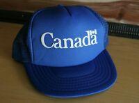 Vintage 80s Canada Trucker Hat Ball Cap Snapback