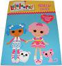 niños niñas LaLaLoopsy Libro de pegatinas Pad con 40 Reutilizables - NUEVO