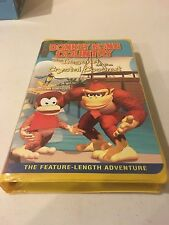 Donkey Kong Country: The Legend of the Crystal Coconut VHS Nintendo  RARE OOP