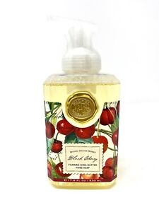 Michel Design Works Black Cherry Foaming Shea Butter Hand Soap Lush Ripe Cherry