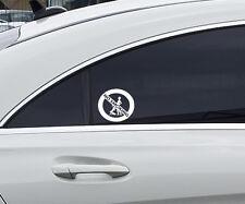 No smoking Fun Auto Aufkleber Nicht Rauchen Lustiger Sticker JDM OEM