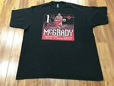 2Xl - Vtg Nba Houston Rockets Tracy McGrady Stats adidas Faded Cotton T-shirt