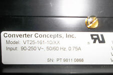 CONVERTER CONCEPTS INC. VT25-161-10/XX POWER SUPPLY