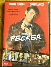 Pecker (DVD-1998 New) John Waters Great Comedy! Edward Furlong, Cristina Ricci