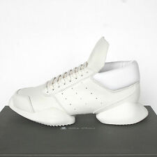 RICK OWENS x ADIDAS milk white ro runner trainers sneakers shoes 5.5-M/7.5-W NEW