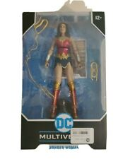 Wonder Woman DC Multiverse 1984 7 Inch Action Figure 22 Moving Parts Age 12 & Up