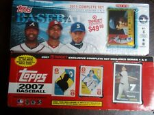 2007,2011,2 Topps Baseball Target Exclusive Complete Set's Factory Sealed
