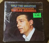 "1968 Waylon Jennings ‎""Only The Greatest"" LP - RCA Victor (LSP-4023) NM+"