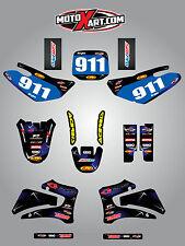 Yamaha TTR 125 / 2000 - 2007 sticker kit BARBED style decals Fully Custom
