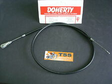 60-0418 TRIUMPH T21 3TA 5TA T100A FRONT BRAKE CABLE DOHERTY UK 57-58