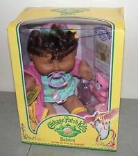 """New! Rare! Vtg 2005 CABBAGE PATCH BABIES Doll """"BEATRICE"""" Black BABY GIRL /Aug 28"""