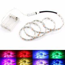 lumières LED Strip RGB 5V+Boîte Batterie+Contrôleur Fonctionne À Piles
