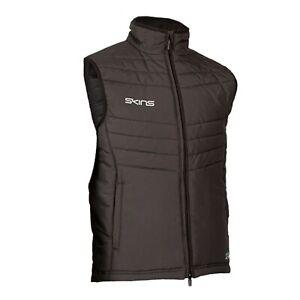 Skins Insulated Gilet - Mens - Black - New - Sportswear - Waterproof