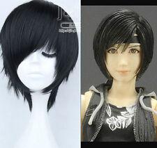 Final Fantasy Advent Children Yuffie Black Cosplay Wig