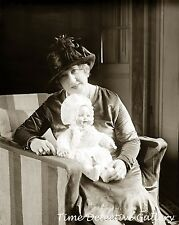Beulah Henry with a Doll She Designed - 1927 - Historic Photo Print