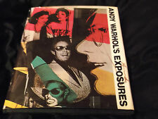 Exposures by Andy Warhol (Hardback, 1979 1st edition signed Twice)