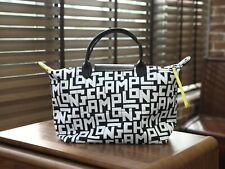Longchamp Le Pliage LGP Tote Handbag Large Authentic From France - White