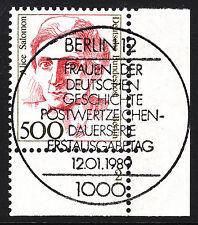 32) Berlin 500 Pf. Frauen 830 FN 2 Formnummer Ecke 4 ESST Berlin 12 mit Gummi