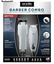 Andis Professional Barber Combo Clipper + T Out liner Hair Trimmer # 66325