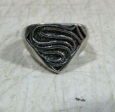 Superman S Style Ring Fashion Costume Jewelry Size 12