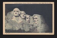 41- Mt. Rushmore National Memorial Illuminated at Night Black Hills South Dakota