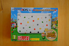 Animal Crossing New Leaf 3 Ds Xl Consola de Edición Especial PAL Reino Unido.