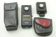 【MINT】Minolta Color Meter II, Flash Color Receptor, Cases, from Japan 236