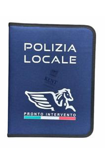 CARTELLINA PORTA DOCUMENTI  POLIZIA LOCALE