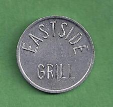 EASTSIDE GRILLE TOKEN - NORTHAMPTON, MASS. -THE TASTE OF NORTHAMPTON