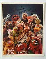 Jim Henson Signed Autographed 8x10 Photo Full JSA Letter Muppets