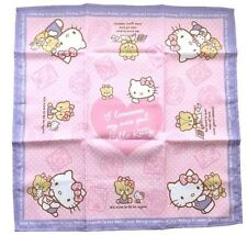SANRIO HELLO KITTY Kawaii Bento square Lunchbox Cloth NEW  F/S AIRMAIL JAPAN