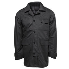 NAU Motil LIGHT WEIGHT Travel PACKABLE Work WIND Rain TRENCH COAT Jacket MENS sz