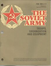 The Soviet Army, Troops, Equipment, Organization (1984 edition)