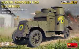 1/35 Austin Armoured Car 3rd Series: Ukrainian, Polish, Georgian, Romanian