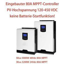 5000W Solar Wechselrichter 80A MPPT 48Vdc Aus-Gitter Wechselrichter PF1.0 230Vac
