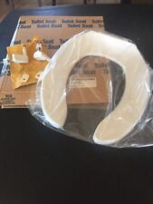 Olsonite Plastic White Toilet Seat Commercial Ansi Z124.5 B1A4B1