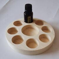 Boîte Huile Essentielle Aromathérapie en Bois Rangement Boîte d'affichage
