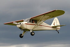 Giant 1/3 Scale Piper PA-15 Vagabond Plans and Templates 113ws