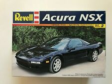 Revell Acura NSX Plastic Model Car Kit #2577 Open Box-ALL parts in Plastic Bag