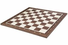 SQUARE - Wooden Chessboard No 6 - ITALY - Field 58 mm - Professional Chess Board