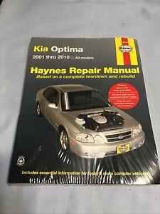 Haynes Repair Manual Kia Optima 2001-2010