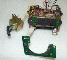 Projection Am/Fm Alarm Clock Radio Digital Wall Plug Battery parts covers bolts