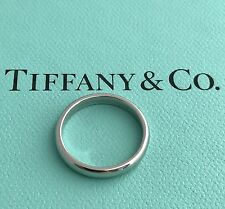 AUTHENTIC TIFFANY & CO LUCIDA BAND RING PLATINUM RETAIL USD $1,250.00+TAX