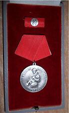 DDR Orden Medaille 20 Jahre Kampfgruppen der Arbeiterklasse im Etui