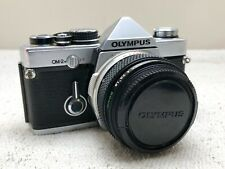 Olympus OM2n Film SLR Camera With 50mm f1.8 Lens