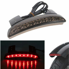 Motorcycle Red Fender Edge Smoke Tail Light  for Harley  Sportster XL 883N 1200N