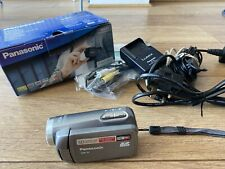 Panasonic SDR-S7 Camcorder - Silver - Boxed - Charger Cables Etc Included