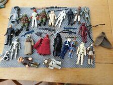 vintage star wars figures selection