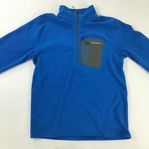 Eddie Bauer Pullover Men's Medium Blue Sweatshirt